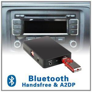 Auto vivavoce Bluetooth A2DP CD Changer adattatore interfaccia Audi A2/A3/A4/S4/TT 1998/ /06