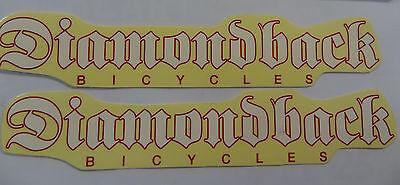 Diamondback Bicycle Diamond Back Decal Sticker Pair