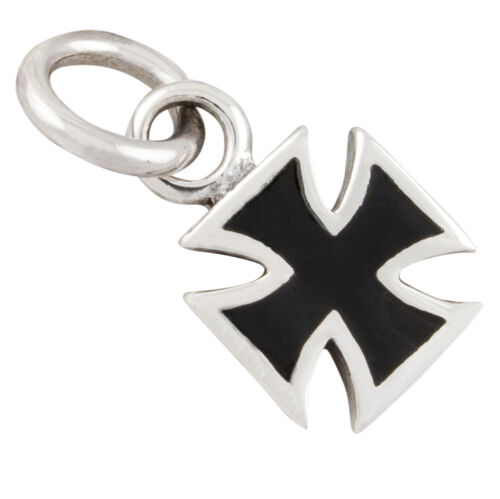 Eisernes Kreuz kleiner Anhänger Silber 925 Iron Cross Bikerschmuck b456