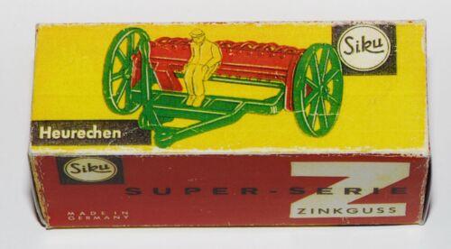 Heurechen superseltene Box !!! Reprobox Siku V 242