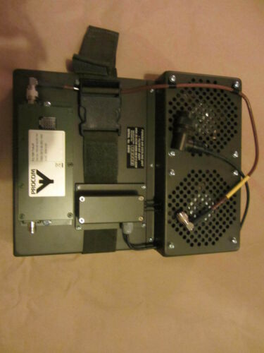 ECM equipment  forced air cooling unit  LAND ROVER SNATCH Vehicle  Bowman radio