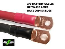 20 Awg 00 Gauge Copper Battery Cable Power Wire Auto Inverter Rv Solar