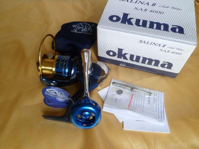 Okuma SALINA II 5000 Spinning Reel 23kg drag Full Metal manufacture