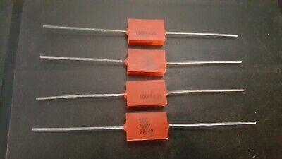 NOS Vintage ERIE 100pF 500v 20/% Ceramic Disc Capacitor 8 x PIECES