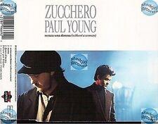 ZUCCHERO SENZA UNA DONNA france french MAXI CD paul young