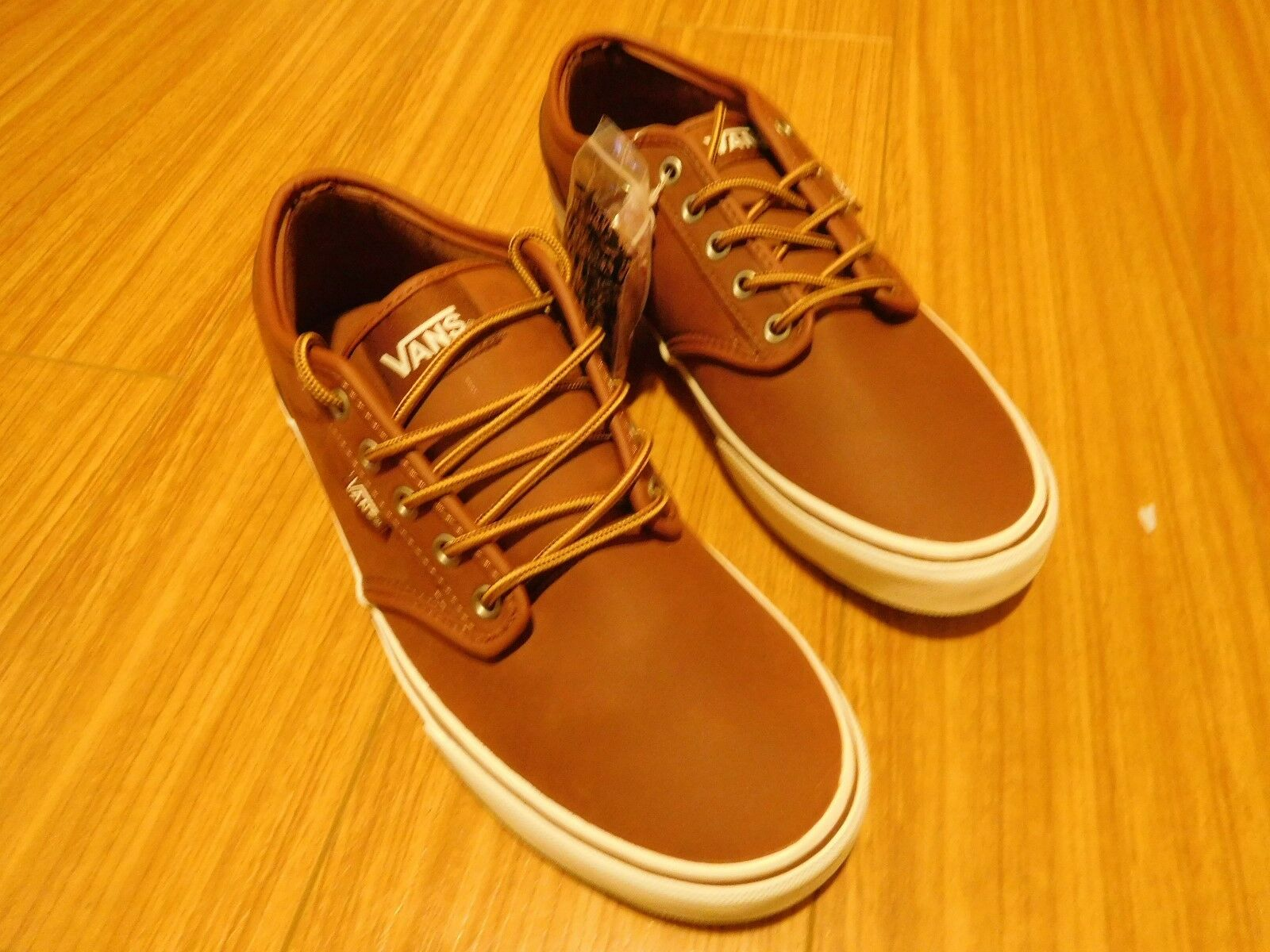 Brand New Vans Collection Atwood Brown/Marshmallow Size 10.5