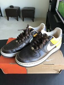Harlem 8 Brown Nike Air Once Fives Force Black About 5 Worn 1 Leather Mens Details eW2IbEDY9H