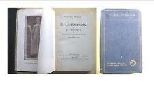 IL CANZONIERE E I TRIONFI - PETRARCA - MOSCHETTI  VALLADRI 1924 ERRORE DI STAMPA