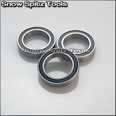 10 Pcs Premium 6803 2RS ABEC3 Rubber Sealed Deep Groove Ball Bearing 17x26x5mm