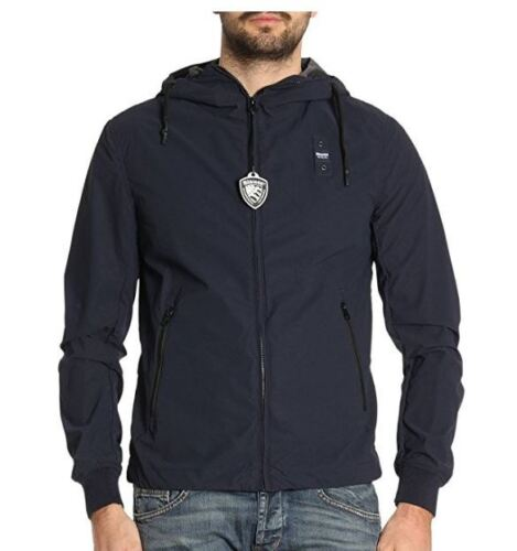 2018 Retail Jacke Blauer USA Kurz Ungefüttert 18SBLUC04067 Blau Coll