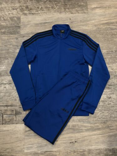 Blue Adidas Track Suit Small