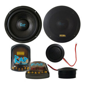 SAVARD-Speakers-10-200-Watt-RAP-6-5-034-inch-Component-Set