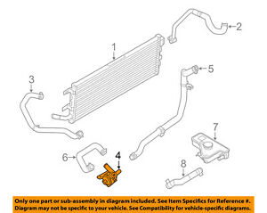 FORD OEM Cooling System-Water Pump 5M6Z8C419A