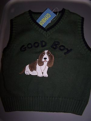 NWT GYMBOREE BLUE PUPPY DOG GOOD BOY SHIRT 12-18 MONTHS