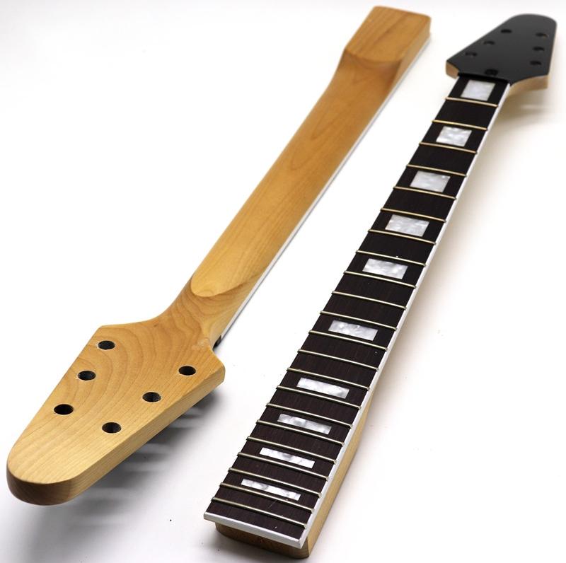 FLY V Guitar Neck High Quality 63.7cm Length 5.7cm Width 2.5cm Thicknes
