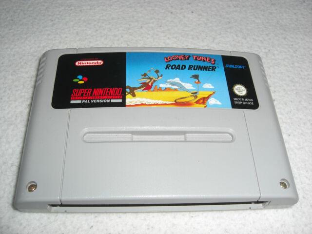 Looney Tunes Road Runner SNES Super Nintendo Spiel nur das Modul