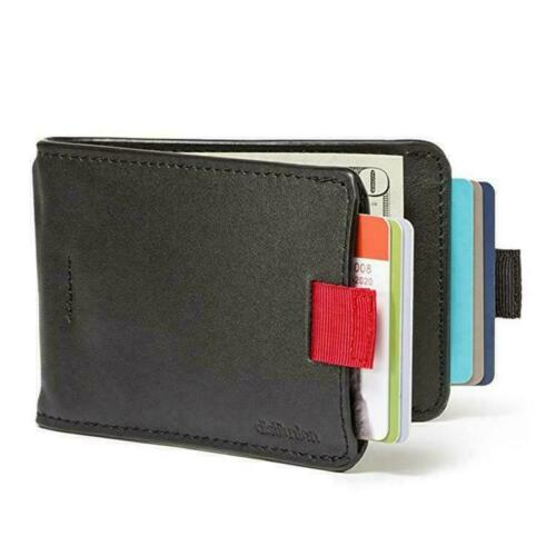 Handmade RFID Blocking Geniue Leather 12 Cards /& 30 Wallet Pull-Out Bills N6A1