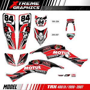 Fits Honda TRX 400 99-07 graphic kit trx400ex stickers decal kit stickers