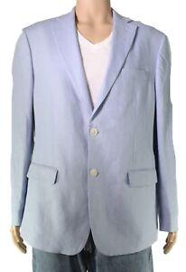 Lauren by Ralph Lauren Mens Sport Coat Light Blue Size 42 R Ultra-Flex $295- 124
