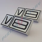 V8 GUARD BADGES (x2), NEW , for Ford Falcon Fairmont Fairlane GT XY ZD ZC fender