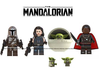 STAR Wars I Mandaloriani /& Baby Yoda con POD 1 Lego compatibile MINIFIGURES