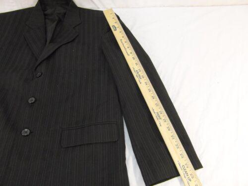 Sport opciones negro tres stock Hombres a rayas Vintage Coat gris de 52 botones P5qxfxZw