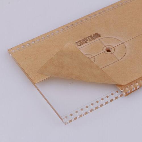 17er//Set Acryl Vorlage Schneiden Schablonen Stempel für DIY Frauen Tasche