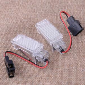 2X-Error-Free-WHITE-18-LED-LIGHT-FOOTWELL-fit-for-Skoda-Octavia-MK3-5E-2012-2017