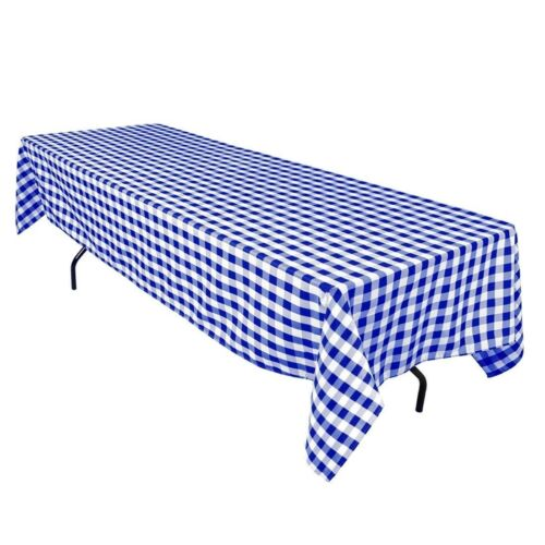 """5 Yards Checkered Fabric 60/"""" Wide Gingham Buffalo Check Tablecloth Fabric SALE"""