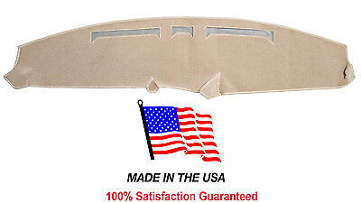 1980-1986 Ford Full Size Bronco Beige Carpet Dash Cover Mat FO4-8 Made in USA