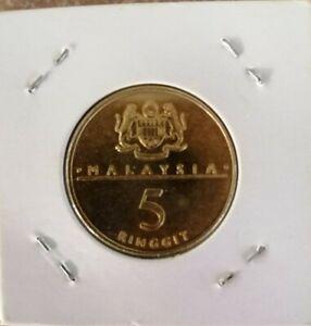 RM5 Commemorative Coin 1989 - Mesyuarat Ketua2 Kerajaan Komanwel (UNC) #A