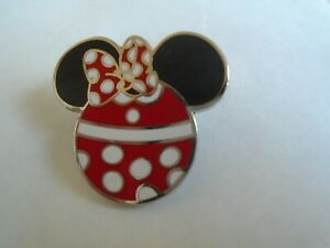 Disney's Minnie Mouse Mickey Head Pin  Badge