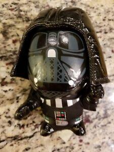 STAR-WARS-Darth-Vader-Plush-Stuffed-Toy-Doll-Soft-6-034-Black-Shiny-Big-Head-Doll