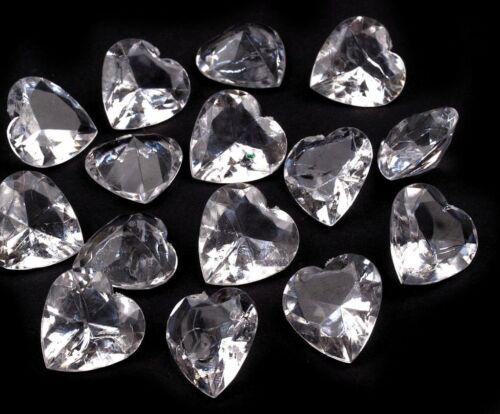 Dekosteine Herz Tischdekoration Streuelemente Kristalle Deko Hochzeit Diamanten