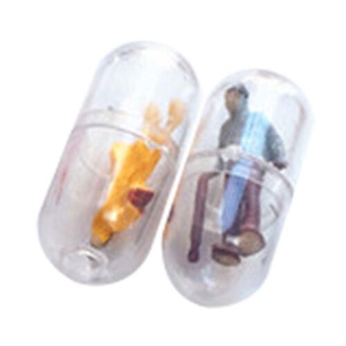 Mode Boucles D/'oreilles Transparent Capsule Peuple Créatif Drôles Personnalité