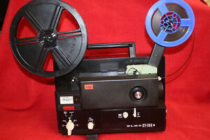 SUPER-8mm-MAGNETIC-MONO-SOUND-MOVIE-PROJECTOR-ELMO-ST-160-M-SERVICED-A1