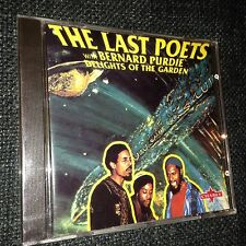 NEW RARE CD The Last Poets With Bernard  Purdie - Delights Of The Garden