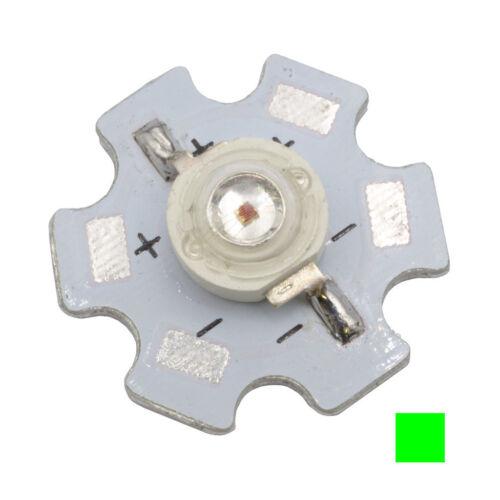2 huiyuan High Power LED en PCB 1w lb2-p200g3c-h LEDs claro verde 60lm 858959