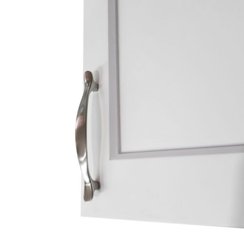 "50pk 3-3//4/"" C.C Pull Satin Nickel Traditional Cabinet Handle 2747 Drawer Door"