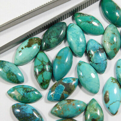 Tibetan Turquoise Smooth Cabochons  High Turquoise Quality  Tibetan Turquoise Gemstone  Loose Turquoise Jewelry Making