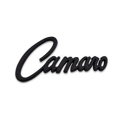 White Camaro SS Logo Emblem Super Sport Badge 3D Metal Sticker Racing Car Decal