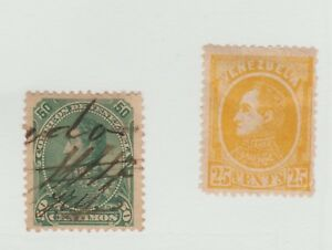 Venezuela-LA-Cinderella-Revenue-Fiscal-Stamp-1-10-Postal