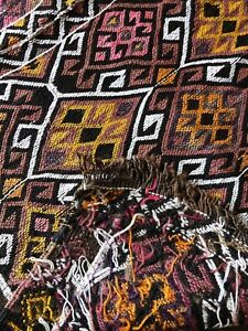 Anglo-Indian-Handmade-Kilim-Rug-2-039-5-039-039-X-3-039-8-039-039
