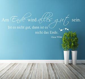Wandtattoo-Wohnzimmer-Spruch-Am-Ende-wird-alles-gut-sein-Wanddekoration