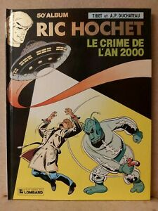 BD-Ric-Hochet-50-EO-91-dedicace-Dossier-Tibet-Duchateau