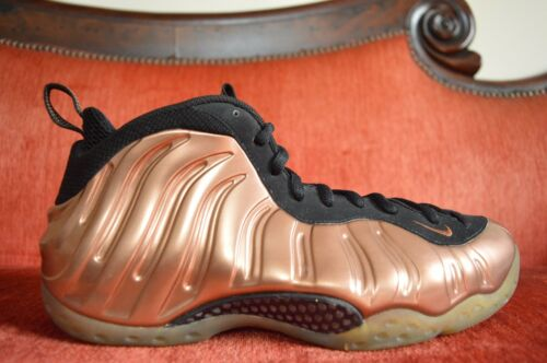 Foamposite 11 081 Nike 2010 One Copper 884726320419 314996 Tama Negro Metallic Air o pp0AF