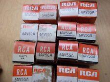 Vacuum Tubes -   6AV5GA  RCA   (2  NOS/NIB)  (GRAY PLATE) (9 available)