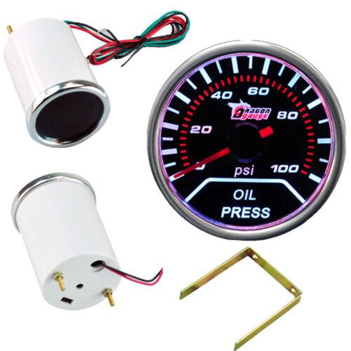 52mm Drehzahlmesser Turbodruck Wasser Öltemperatur Voltmeter Zusatz Instrument