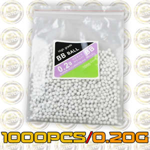1000PCS-Hard-Airsoft-Pellets-BB-Strikeball-0-2g-6mm-Tactical-BB-Balls-0-20g
