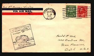Canada-1929-FFC-Ft-McMurray-to-Windsor-Z17439